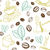 Coffee Hand Drawn Seamless Pattern stock photo © creativika