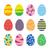 vecteur · œufs · de · Pâques · Pâques · oeuf · rouge - photo stock © creativika