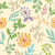 floral pattern color seamless stock photo © creator76