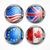 europeo · iconos · banderas · jpg · eps10 - foto stock © creator76
