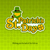 leprechaun lettering logo on green stock photo © creator76