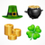 St. Patrick`s Day symbols on white stock photo © creatOR76