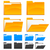 downloaden · map · icon · computer · kantoor · papier - stockfoto © creator76