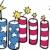 bandeira · americana · estrelas · dia · ilustração · vetor - foto stock © cteconsulting