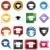meervoudig · chat · 3D · iconen · groene - stockfoto © cteconsulting