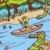jungle river ride stock photo © cteconsulting