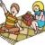 ロマンチックな · ピクニック · 少年 · 少女 · エッフェル塔 · 女性 - ストックフォト © cteconsulting