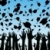 diákok · kép · égbolt · kéz · kék · érettségi - stock fotó © cteconsulting