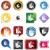 etiket · kristal · ikon · yalıtılmış · beyaz · iş - stok fotoğraf © cteconsulting