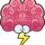 cervello · tempesta · illustrazione · fulmini · fuori · abstract - foto d'archivio © cthoman