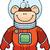 monkey astronaut stock photo © cthoman