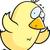 karikatür · bebek · civciv · uçan · örnek · tavuk - stok fotoğraf © cthoman