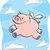 pig flying stock photo © cthoman