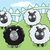 cartoon · nero · pecore · retro · pensare · disegno - foto d'archivio © cthoman