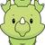 Cute · динозавр · Cartoon · улыбаясь · тело · модель - Сток-фото © cthoman