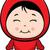 Cute · мало · дьявол · девушки · красный · костюм - Сток-фото © cthoman