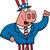 patriotic pig stock photo © cthoman