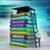 afstuderen · cap · boeken · 3D · 3d · render · illustratie - stockfoto © cuteimage
