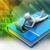 3d · человек · книга · ноутбука · служба · человека · школы - Сток-фото © cuteimage