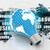 電気 · 電球 · 世界地図 · 地図 · スペース · 科学 - ストックフォト © cuteimage