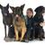 szczeniak · rottweiler · kobieta · biały · strony · psa - zdjęcia stock © cynoclub