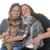 duas · mulheres · cão · mulher · animais · de · estimação - foto stock © cynoclub