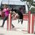 ジャンプ · ボーダーコリー · 青空 · スポーツ · 青 - ストックフォト © cynoclub