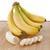 plátanos · rebanadas · blanco · poco · pelado - foto stock © cynoclub