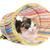 driekleur · kat · tunnel · witte · dier · studio - stockfoto © cynoclub