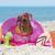 gumi · gyűrű · tengerpart · víz · tenger · homok - stock fotó © cynoclub