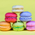 délicieux · groupe · fraîches · sweet · macarons · isolé - photo stock © cypher0x