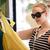 kobieta · tkaniny · sklep · moda - zdjęcia stock © d13