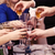 group of people toasting at a celebration stock photo © d13