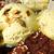 pisztácia · fagylalt · merítőkanál · tál · fából · készült · textúra - stock fotó © d13