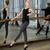 jovem · bailarino · estúdio · feminino · janela - foto stock © d13