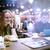 vrouw · cafe · touchpad · telefoon · jonge · vrouw · telefoongesprek - stockfoto © d13