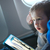 little boy drawing on a tablet in an airplane stock photo © d13
