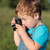 Little child taking pictures outdoor stock photo © d13