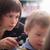 jovem · meninos · cabeleireiro · sorrir · crianças · cara - foto stock © d13