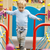 cute little boy playing in a playground stock photo © d13