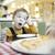 dining · tuin · drinken · jongen - stockfoto © d13