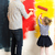 father and daughter painting wall stock photo © d13