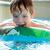 erkek · yüzme · kauçuk · halka · havuz · yüzme · havuzu - stok fotoğraf © d13