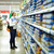 élelmiszerbolt · vásárlás · nő · gyermek · áruház · választ - stock fotó © d13