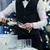 camarero · vino · mayordomo · vino · tinto - foto stock © d13
