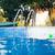 лестнице · бассейна · воды · текстуры · спорт · крест - Сток-фото © d13