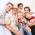 família · feliz · retrato · menino · avô · retrato · de · família - foto stock © d13
