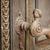 ősi · ajtó · fogantyú · öreg · rozsdás · templom - stock fotó © d13