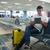 genç · bekleme · havaalanı · yalıtılmış · beyaz · adam - stok fotoğraf © d13