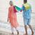 ходьбе · воды · пляж · женщину · человека - Сток-фото © d13